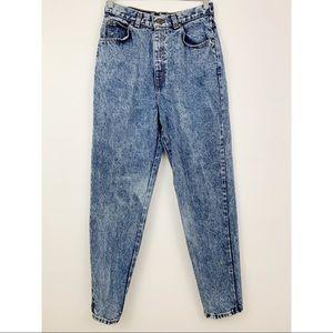 Levis Vintage 573 Tapered Leg Jeans Mom Acid Sz 14